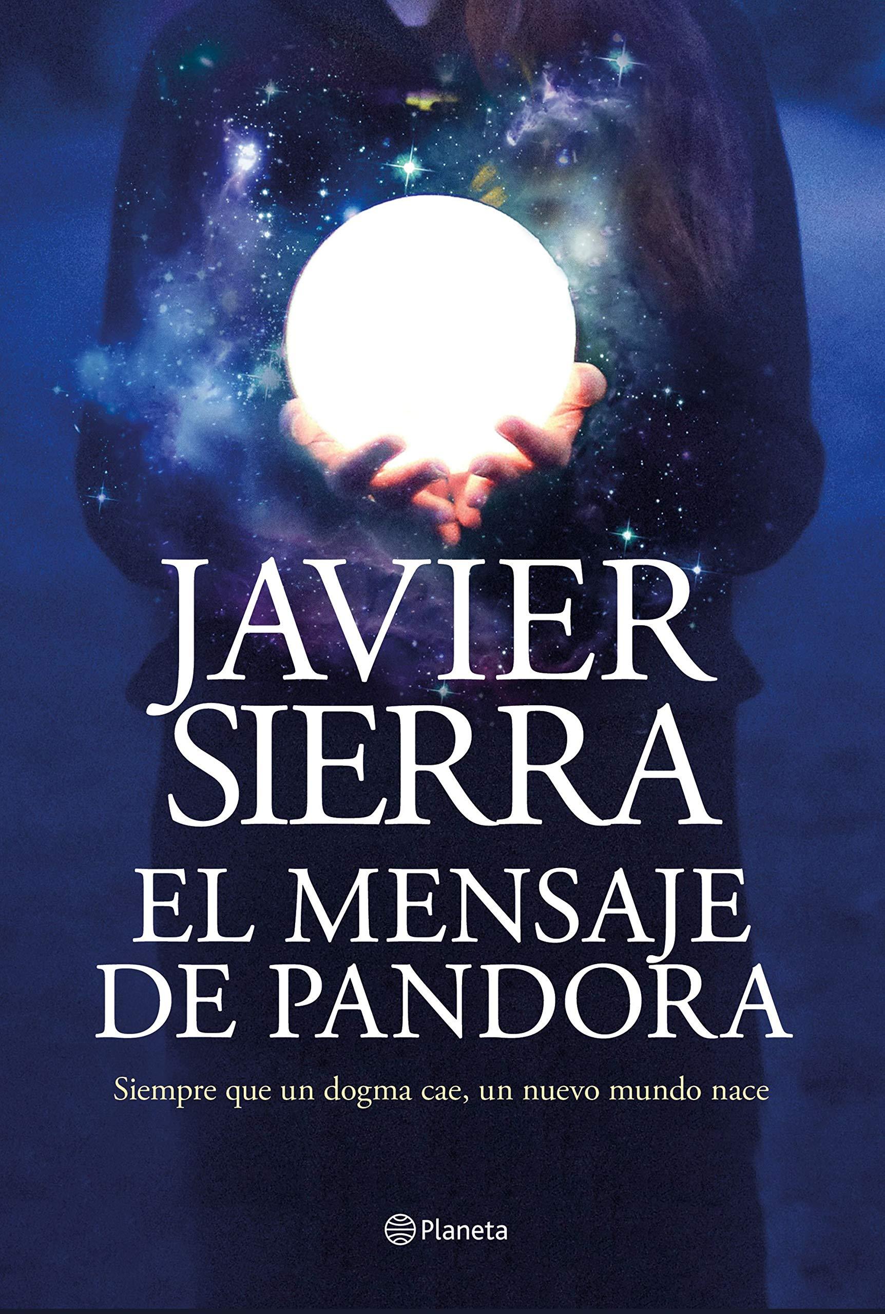 """La biblioteca recomienda en septiembre… """"El mensaje de Pandora"""" de Javier Sierra"""