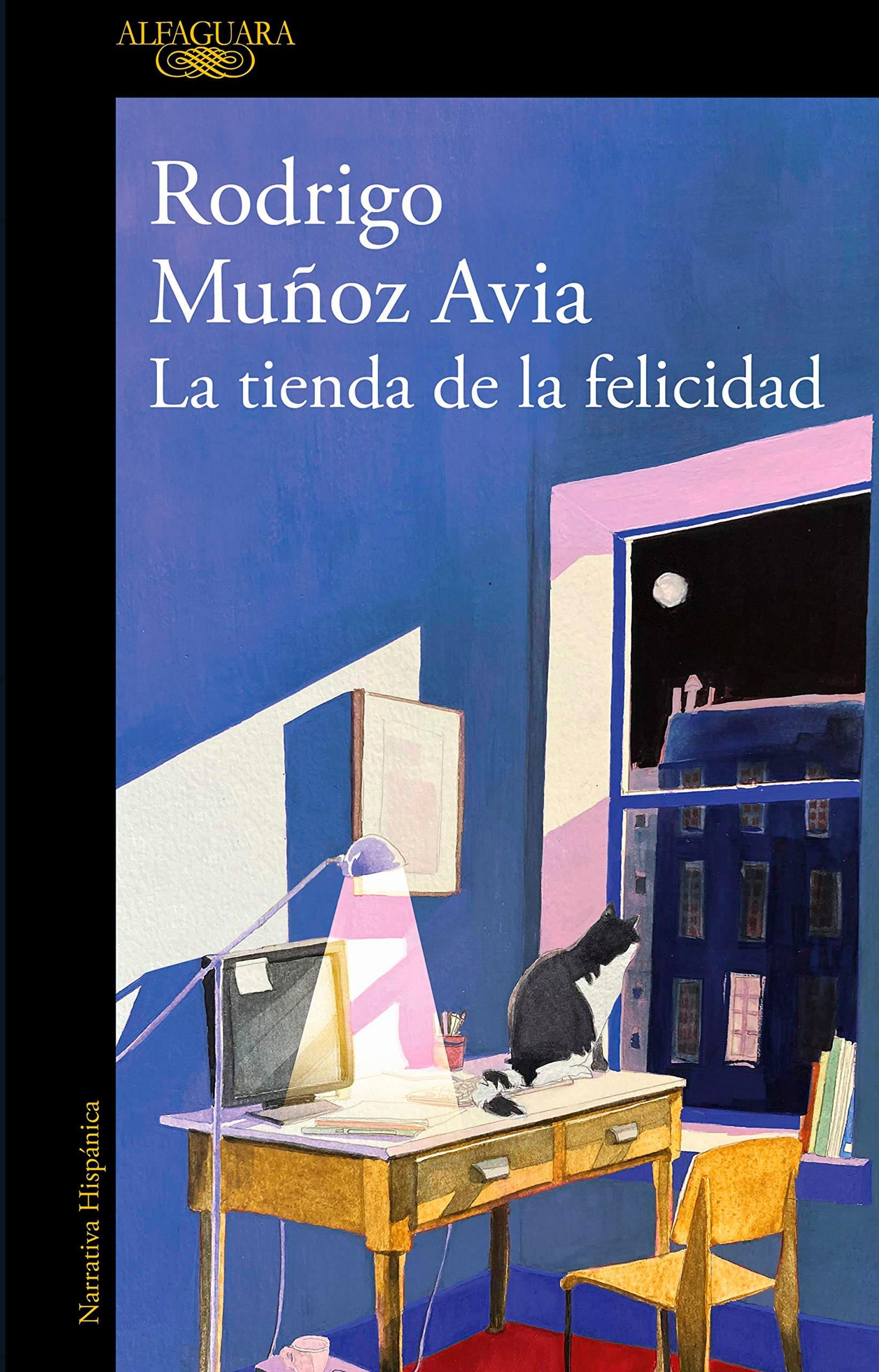 """La biblioteca recomienda en febrero… """"La tienda de la felicidad"""" de Rodrigo Muñoz Avia"""