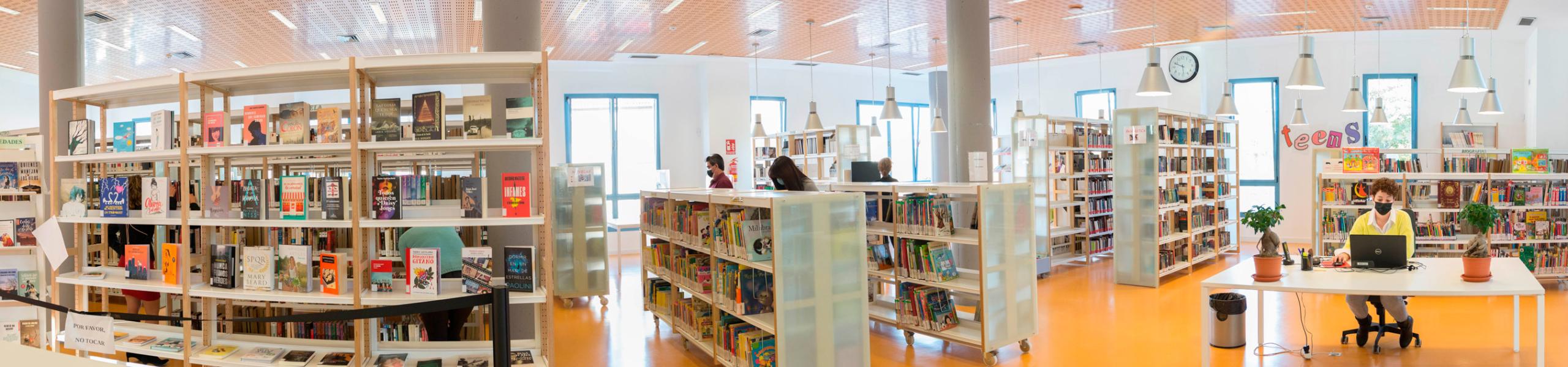 """Biblioteca Pública Municipal de Alhaurín de la Torre """"Antonio Garrido Moraga"""""""