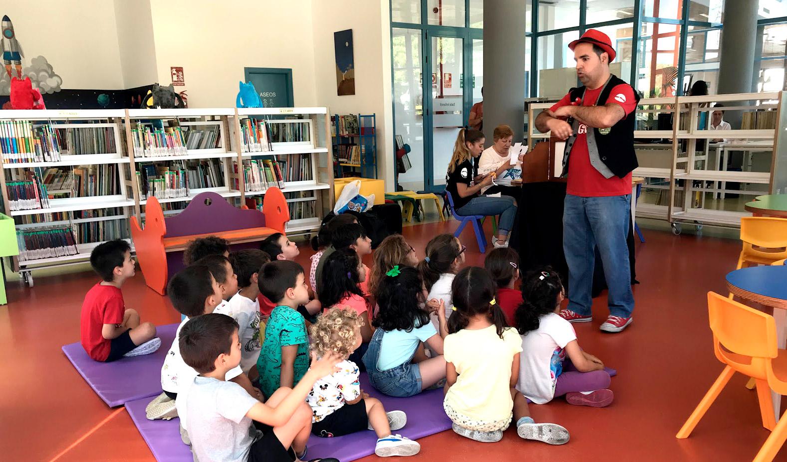 Visitas escolares a la Biblioteca Pública Municipal de Alhaurín de la Torre
