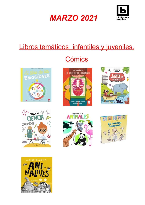 Novedades Infantiles / Juveniles marzo 2021