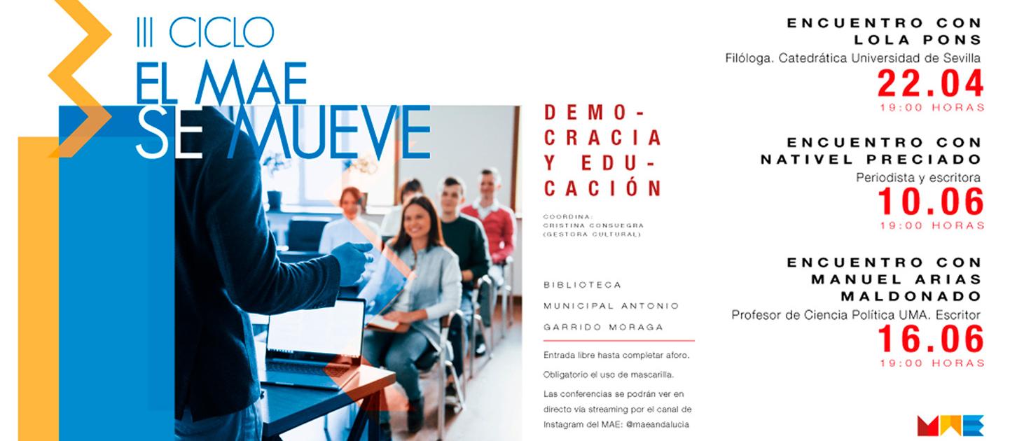 III CICLO EL MAE SE MUEVE - DEMOCRACIA Y EDUCACIÓN