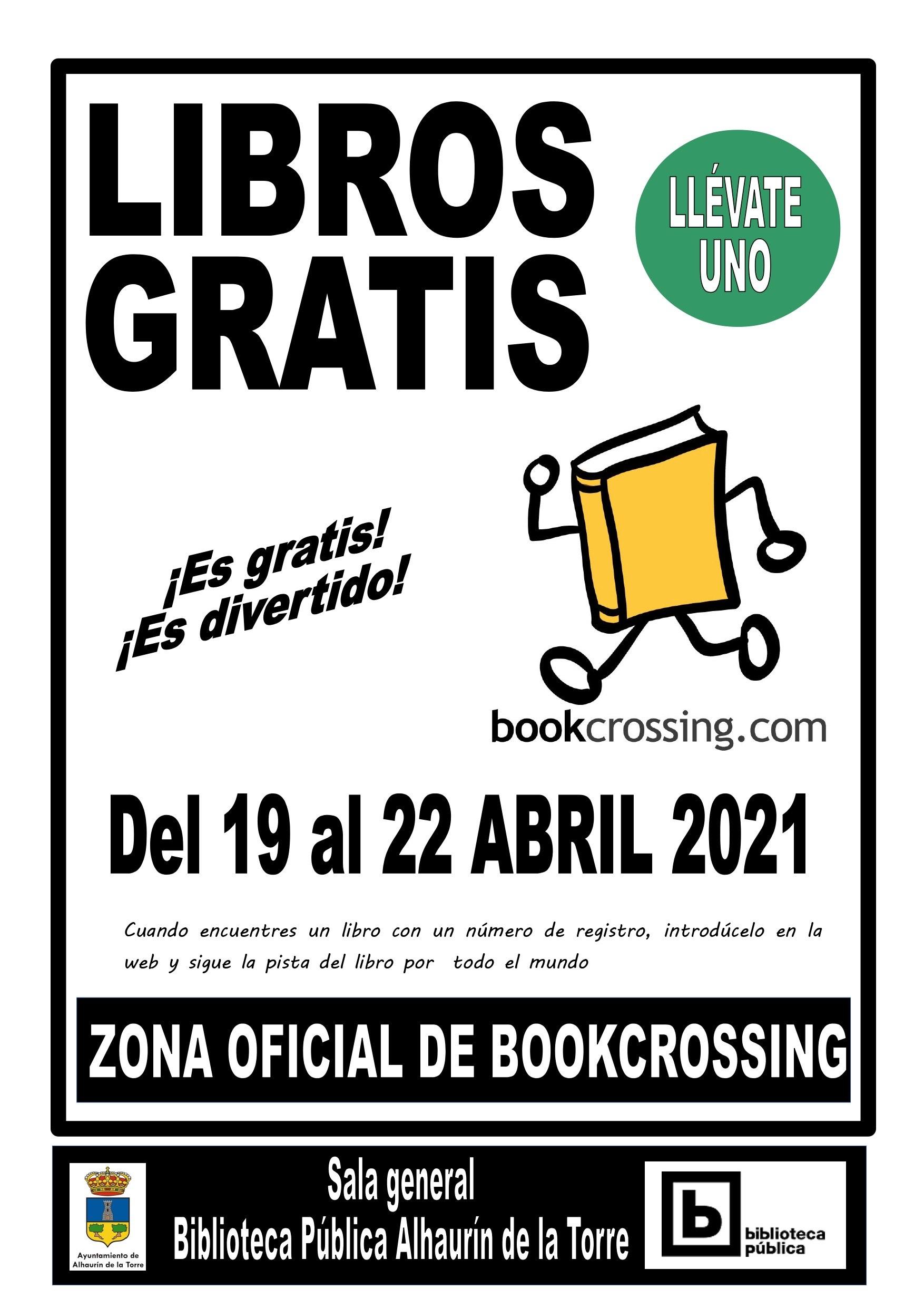 XI EDICIÓN BOOKCROSSING 2021