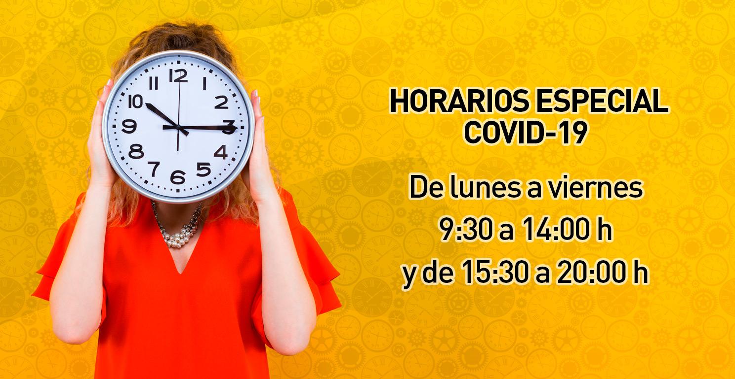 Horario Especial COVID-19