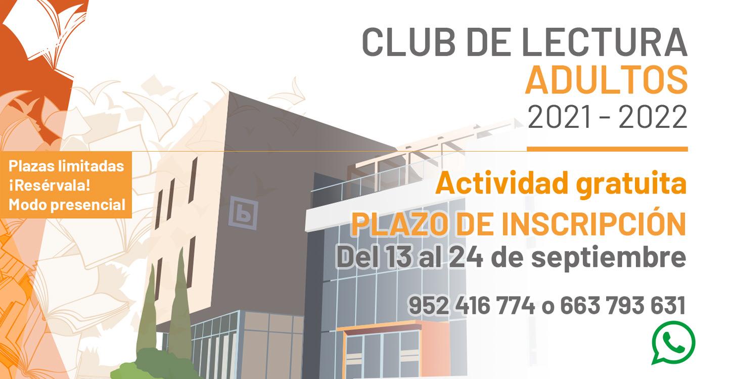 CLUB DE LECTURA ADULTOS 2021 - 2022