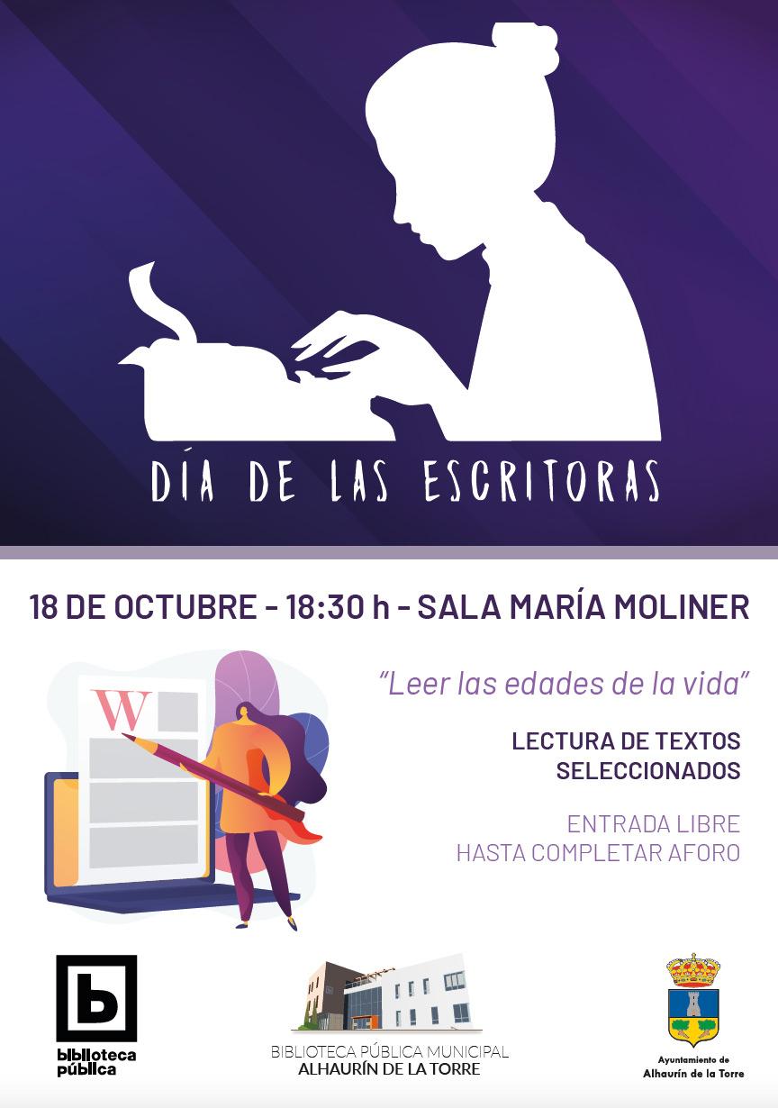 día de las escritoras 18 de octubre